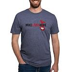 3-MikeLives Mens Tri-blend T-Shirt