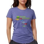 Island Hoppers Womens Tri-blend T-Shirt