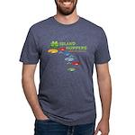 Island Hoppers Mens Tri-blend T-Shirt