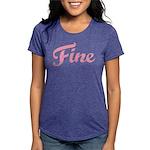 Fine Womens Tri-blend T-Shirt