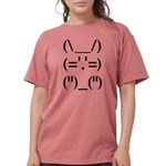 Text Bunny Womens Comfort Colors Shirt