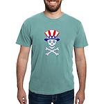 UncleSammySkull_wht Mens Comfort Colors Shirt