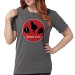 blackChickfinal Womens Comfort Colors Shirt