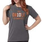2-Oriole_Fanatic Womens Comfort Colors Shirt