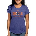 2-Oriole_Fanatic Womens Tri-blend T-Shirt