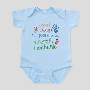 Future Aircraft Mechanic Infant Bodysuit