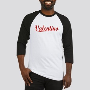 Valentino, Vintage Red Baseball Jersey