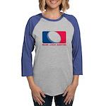01MLQuarters_OnWhtOnly Womens Baseball Tee