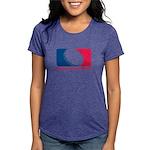 01MLQuarters_OnWhtOnly Womens Tri-blend T-Shir