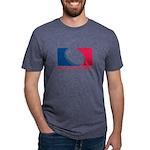 01MLQuarters_OnWhtOnly Mens Tri-blend T-Shirt
