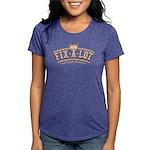 Sir_Fixalot_Wood Womens Tri-blend T-Shirt