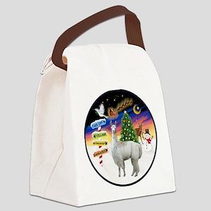 XmasSigns (R) - Llama Canvas Lunch Bag