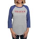 2-Trazan Womens Baseball Tee