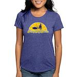 PimpMySwine Womens Tri-blend T-Shirt