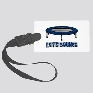 Lets Bounce Trampoline Large Luggage Tag