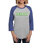 GoGreen Womens Baseball Tee