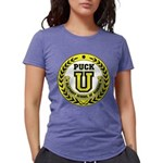 Puck U Womens Tri-blend T-Shirt