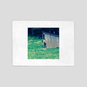Goat Hiding 4Sal 5'x7'Area Rug
