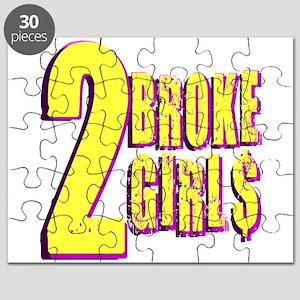 Yellow 2 Broke Girl$ Puzzle