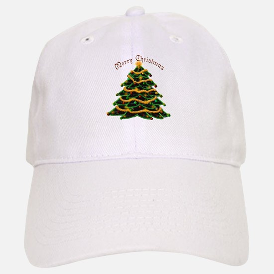 Christmas Tree Baseball Baseball Cap