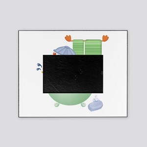 cute bathtime ducky.png Picture Frame