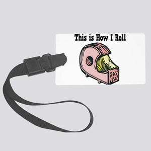 How I Roll Tape Large Luggage Tag