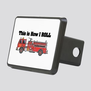 fire truck Rectangular Hitch Cover