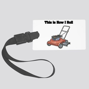 law mower Large Luggage Tag