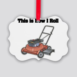 law mower Picture Ornament