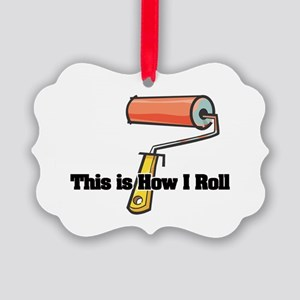 paint roller.png Picture Ornament