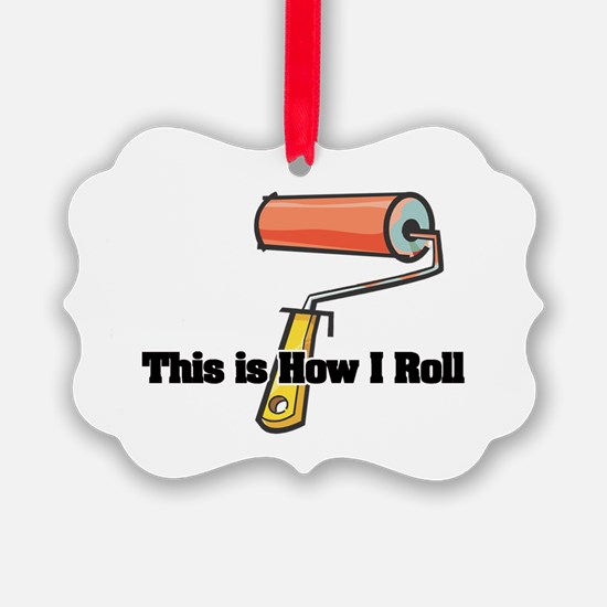 paint roller.png Ornament
