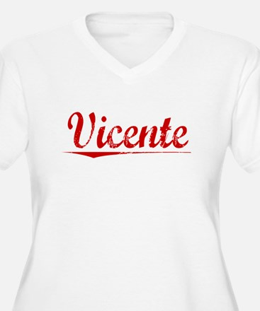 Vicente, Vintage Red T-Shirt