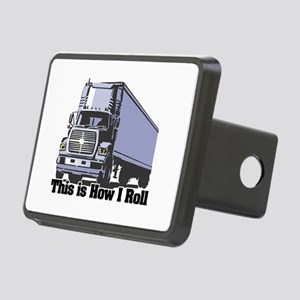 tractor trailer Rectangular Hitch Cover