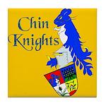 Chin Knights Tile Coaster