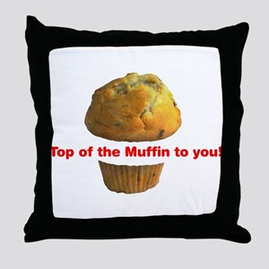 Muffin Top - Throw Pillow