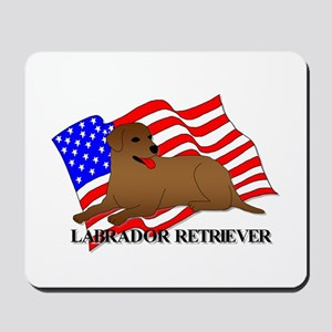 Labrador Retriever USA Mousepad