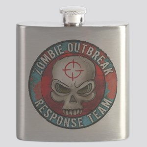 Zombie Outbreak Response Team Flask
