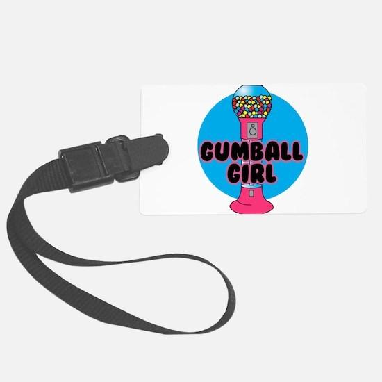 gumnall girl.png Luggage Tag