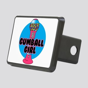 gumnall girl Rectangular Hitch Cover