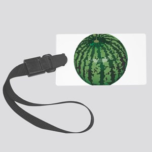 watermelon belly Large Luggage Tag