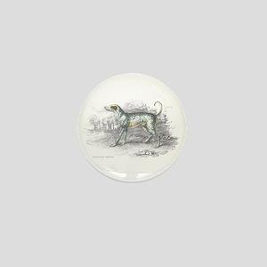 Dalmatian Dog Mini Button