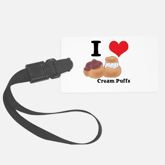 cream puffs.jpg Luggage Tag