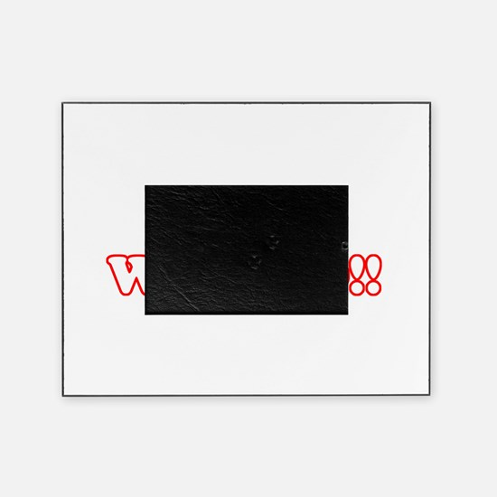 what a wierdo.png Picture Frame