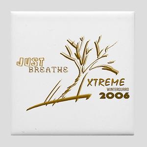 Just Breathe X-Treme Tile Coaster