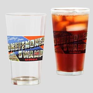 Okefenokee Swamp Greetings Drinking Glass