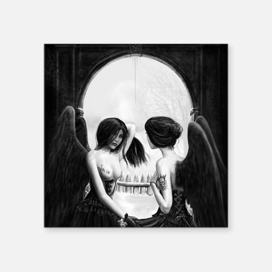 Skull Illusion Sticker