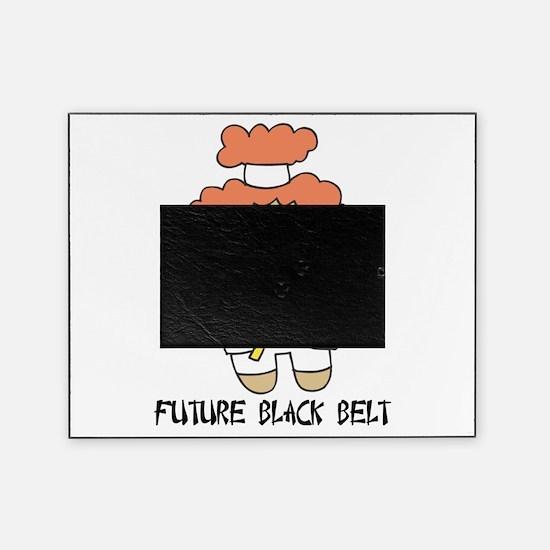 future black belt.png Picture Frame