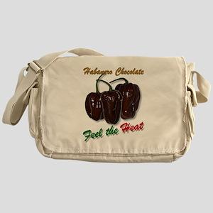 Habanero Chocolate - Feel the Heat Messenger Bag