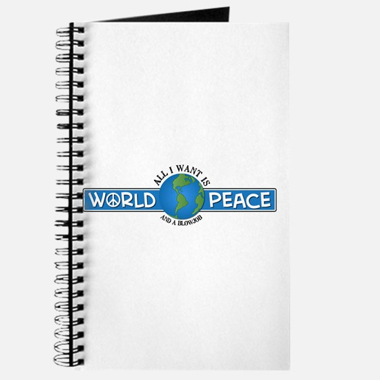 World Peace & blowjob Journal