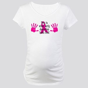 Early Detection Maternity T-Shirt